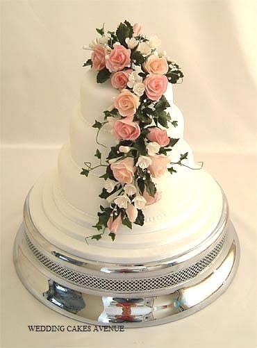 Wedding Cake Fleurs Happy Chantilly
