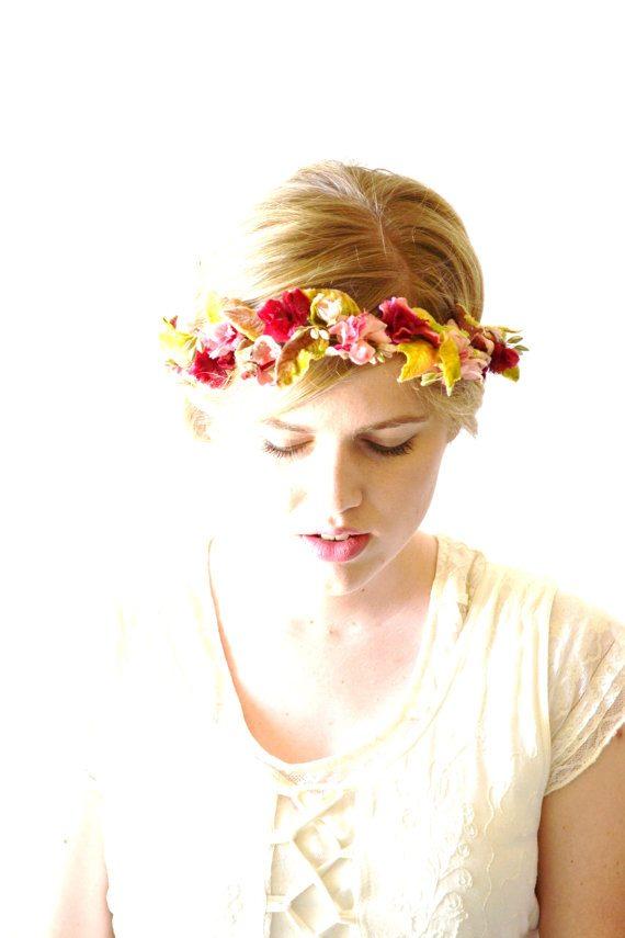 Couronnes de fleurs hazel faire - Faire une couronne de fleurs ...