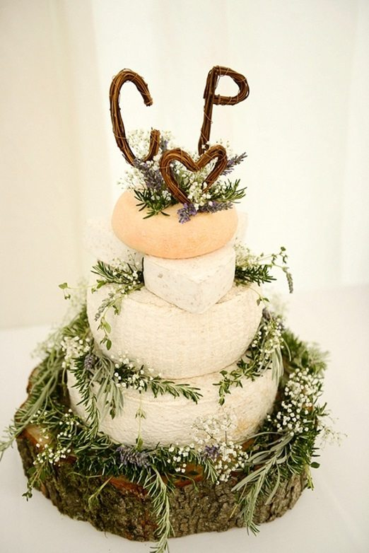 natural wedding cake toppers une pi 232 ce mont 233 e de fromages 17721