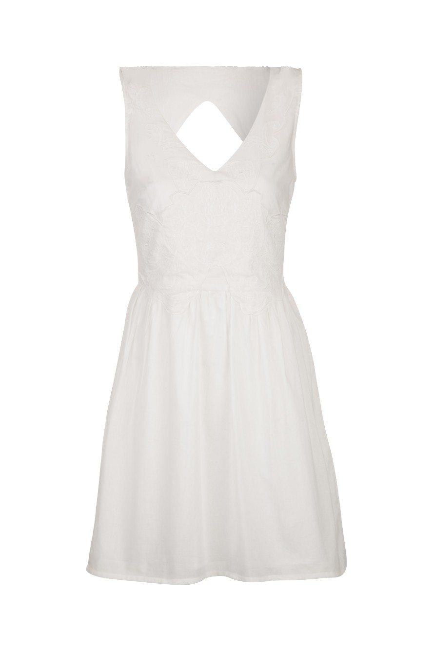 Petite robe blanche zara