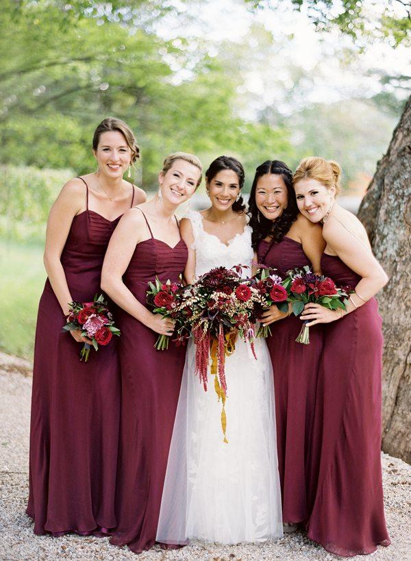 Mariage joli mariage rustique boh me for Robes de demoiselle d honneur mariage rustique chic