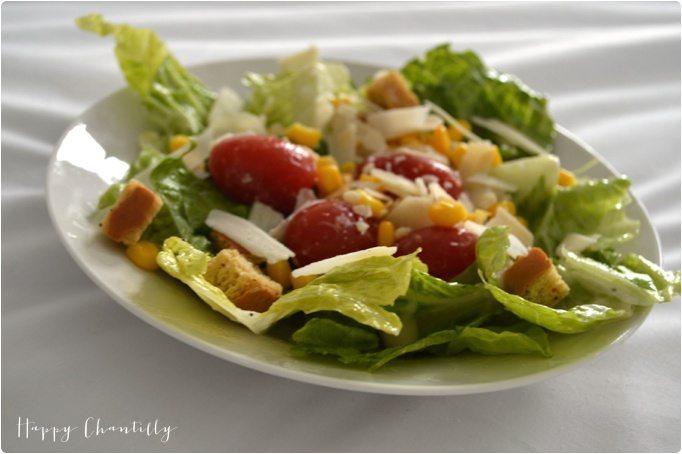 recette facile salade c sar v g tarienne happy chantilly. Black Bedroom Furniture Sets. Home Design Ideas