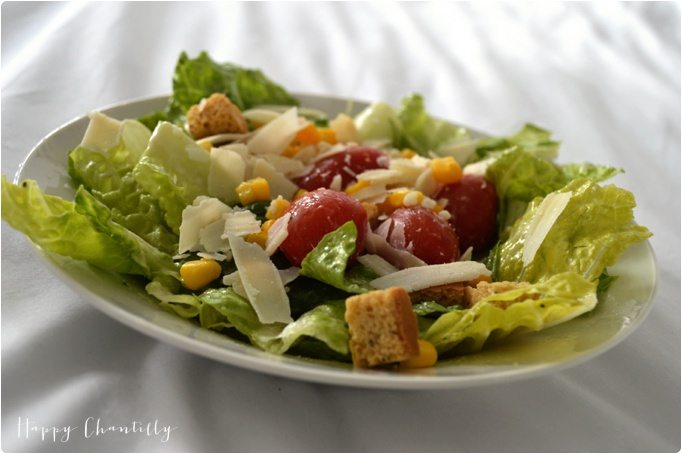 recette facile salade c sar v g tarienne. Black Bedroom Furniture Sets. Home Design Ideas