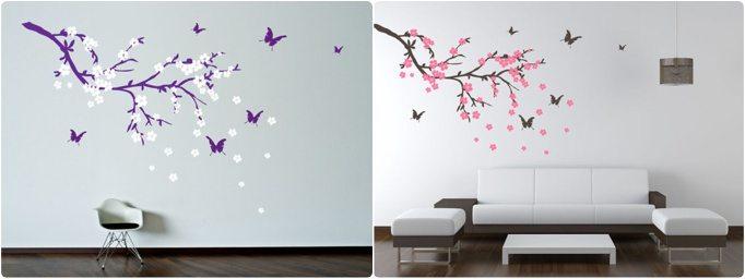 d coration diy un sticker mur effet 3d happy chantilly. Black Bedroom Furniture Sets. Home Design Ideas