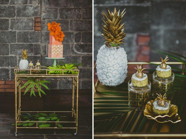 Mariage des ananas dans la d coration for Decoration ananas
