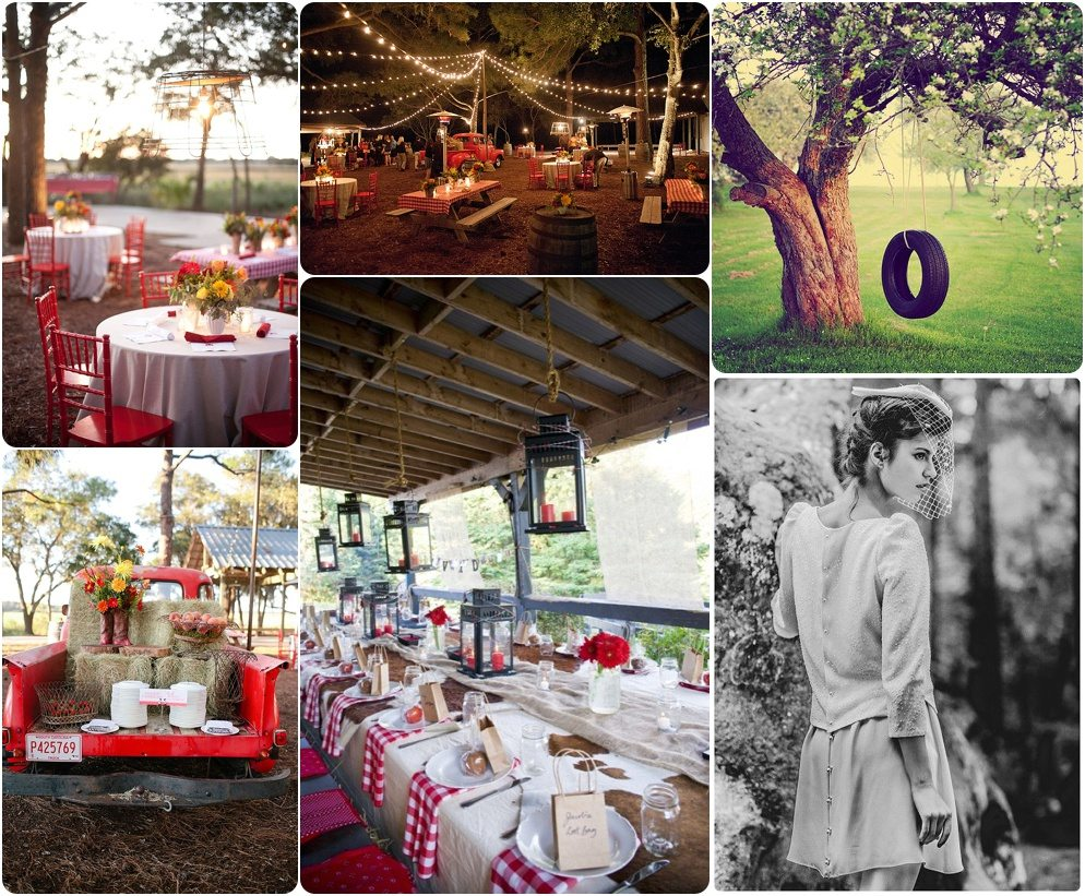 Moodboard Mariage Guinguette Country Wedding Happy