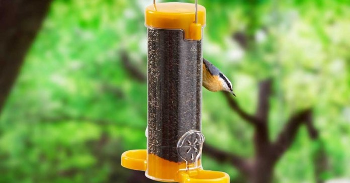 Get Set Go 2 Port Niger Feeder from Happy Beaks - Buy Now