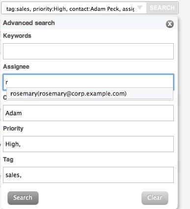 Advanced Search Form