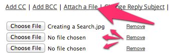 Attaching Multiple Files