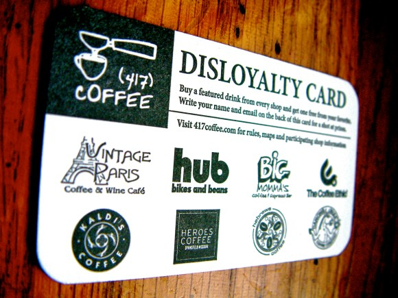 Disloyalty Card