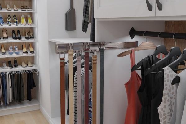 355B pullout belt rack
