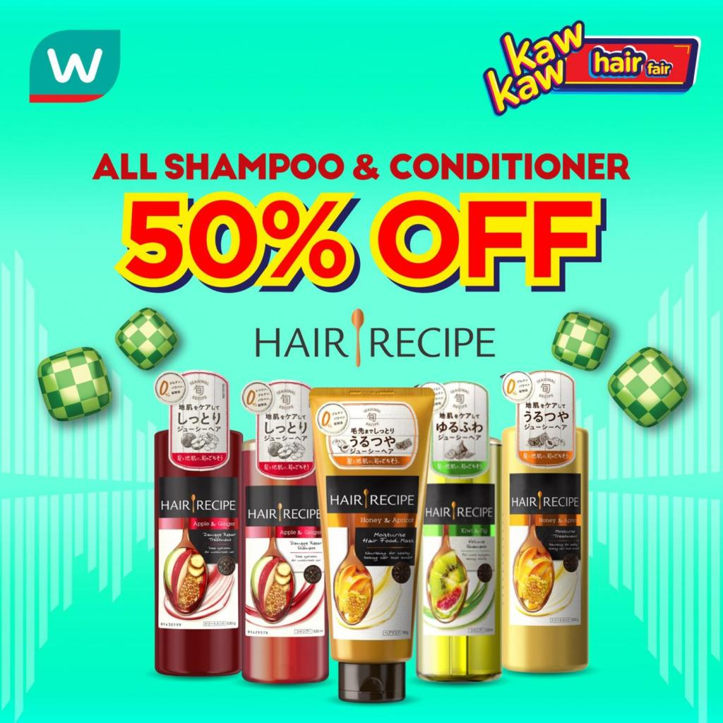 Hair Recipe Watsons