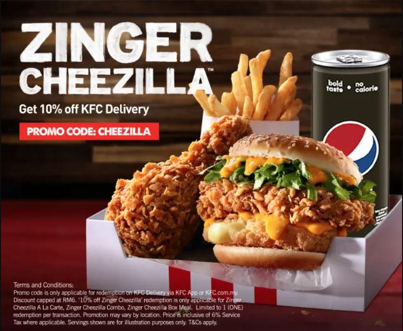 KFC Zinger Cheezilla