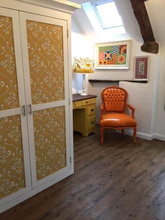 Cathy's bedroom in Premium Wood Reclaimed Pine
