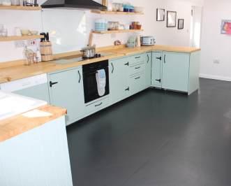 Rebecca's kitchen in Urban Colours Gunmetal