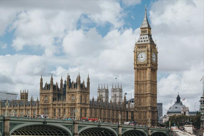 destinations EVJF Europe Londres