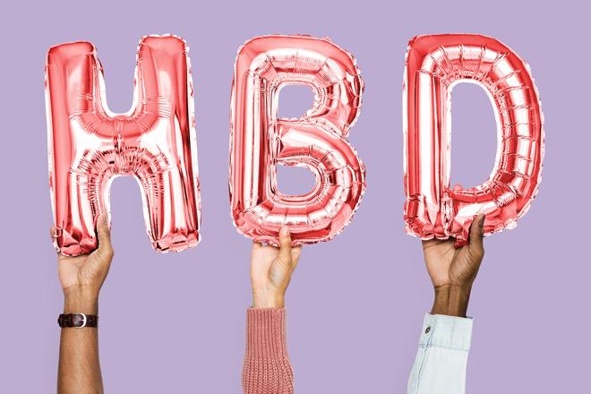 idées surprises anniversaire ballons