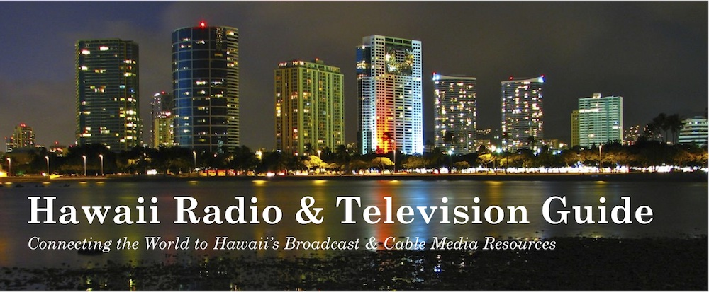 Hawaii Radio & Television Guide Banner
