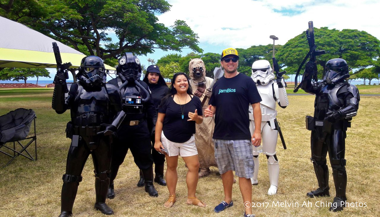 Geeks and storm troopers