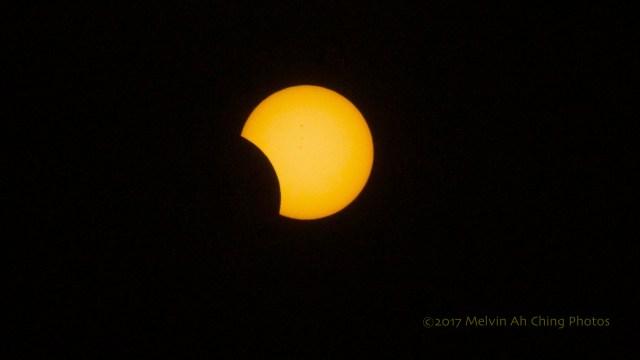 2017 Hawaii Solar Eclipse