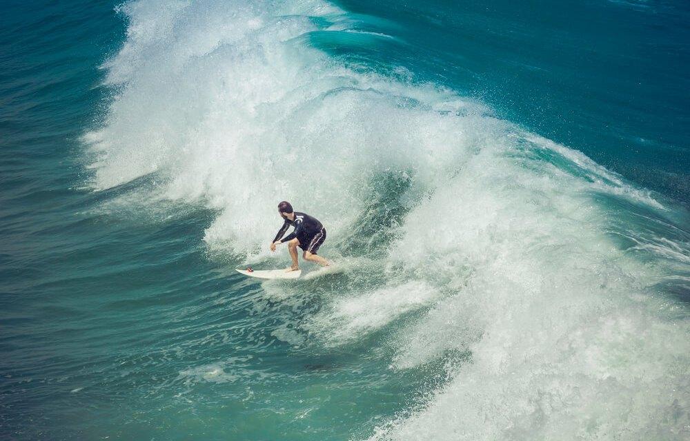 As melhores ondas estão nas estações de outono e inverno: entenda por quê