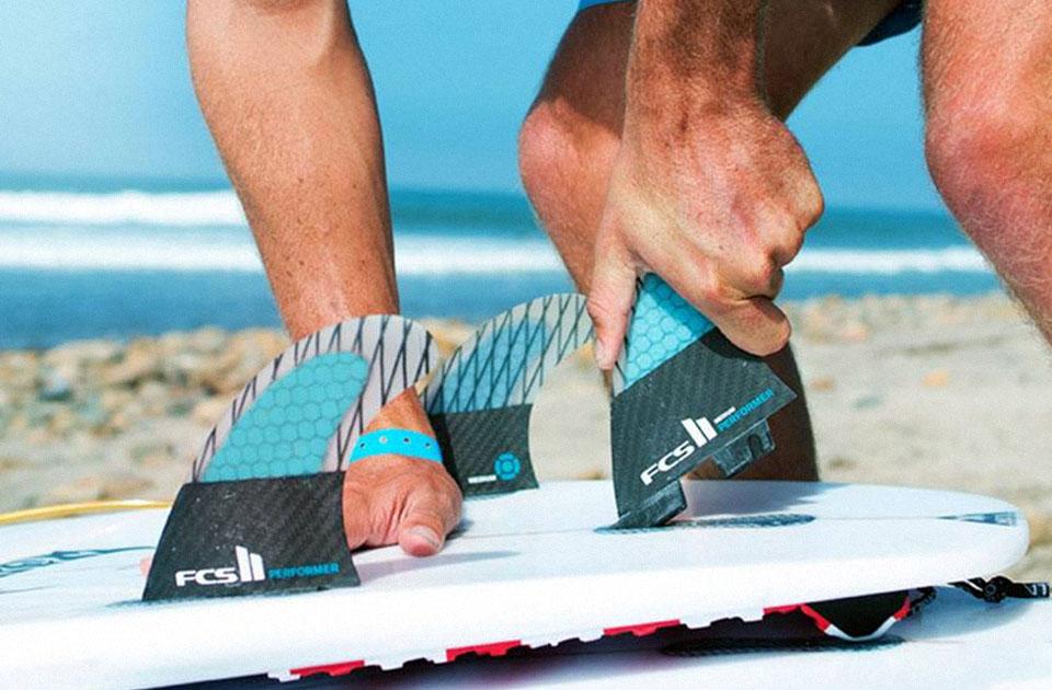 equipamentos para surf quilhas