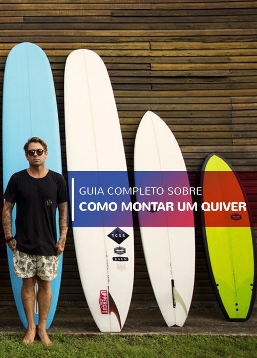 Como montar um quiver de surf