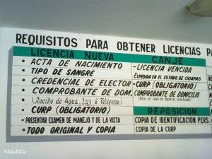 Requisitos de licencias