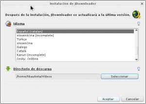 Configurando JDownloader