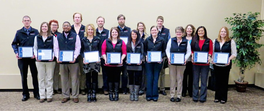 2015-16 Leadership Madison graduates. Photo courtesy Greater Madison Area Chamber of Commerce.