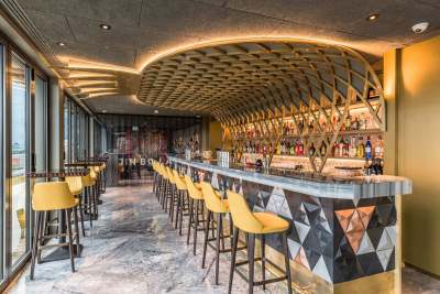Jin Bo Law, stylish asian bar