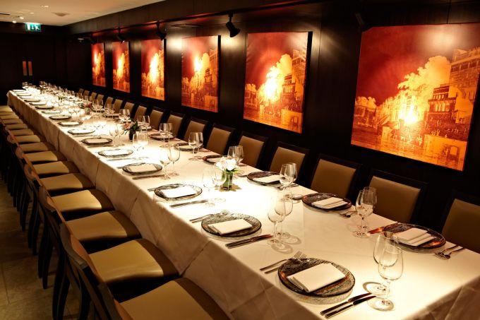Benares Restaurant private dining rooms Mayfair