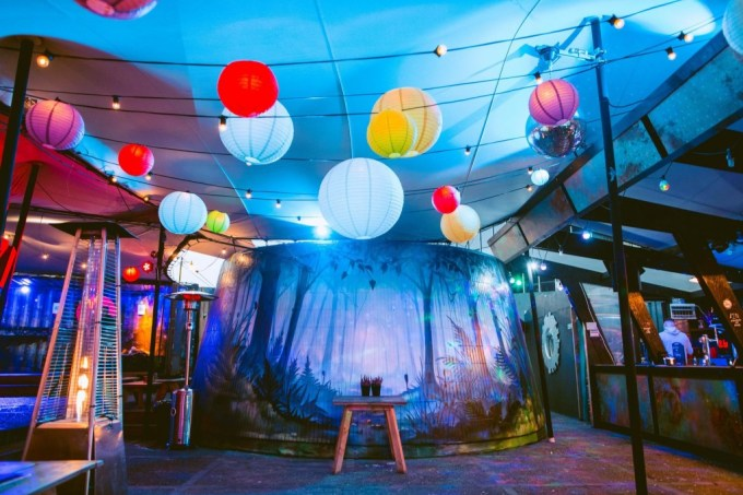 The Magic Roundabout, summer party venues london