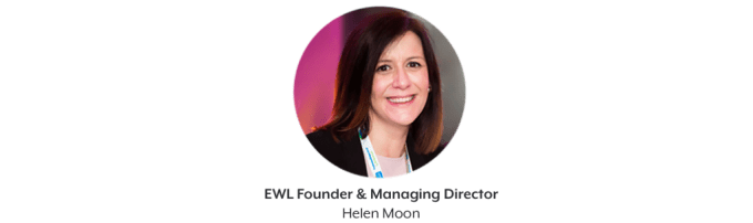 Helen Moon, Managing director and founder of the EWL club London