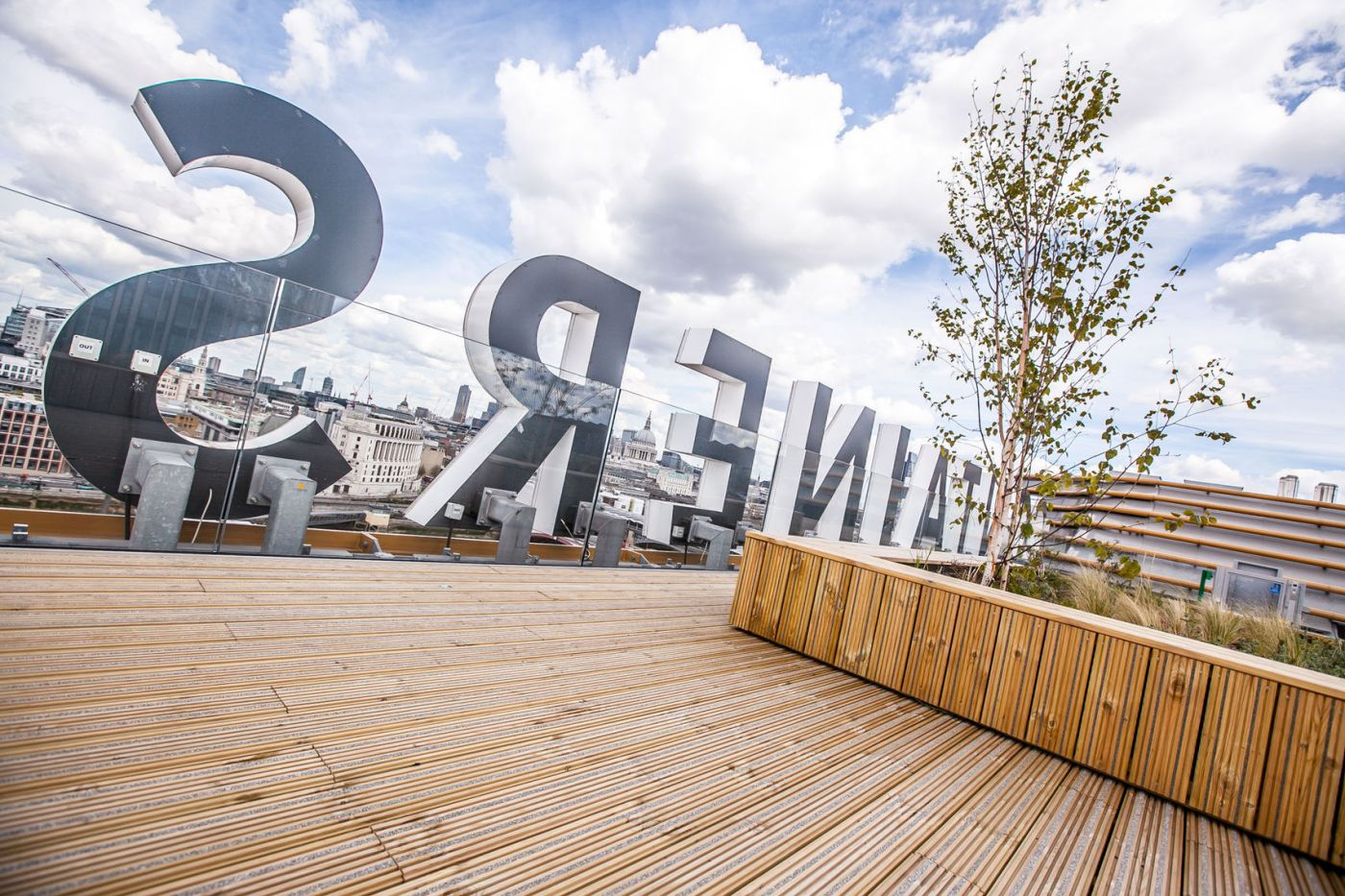 Sea Containers Roof Terrace on South Bank