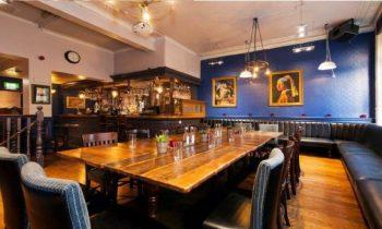 dining room at dutch cafe bar
