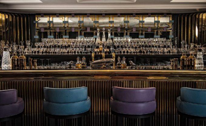 elegant bar at mews of mayfair
