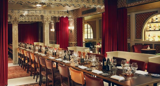 regal looking room at victorian bathhouse one of the best Christmas party venues London has to offer