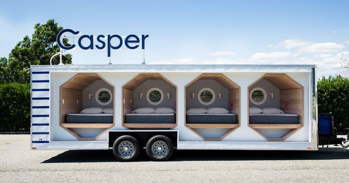 Casper outdoor pop up space