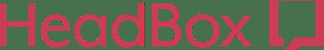 HeadBox logo in pink