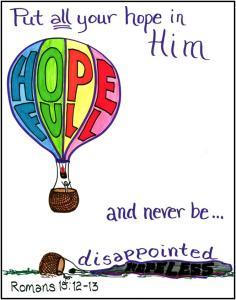 Depression? Hope in Him!