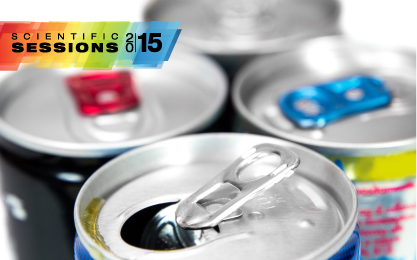Scientific Sessions - photo of energy drink cans