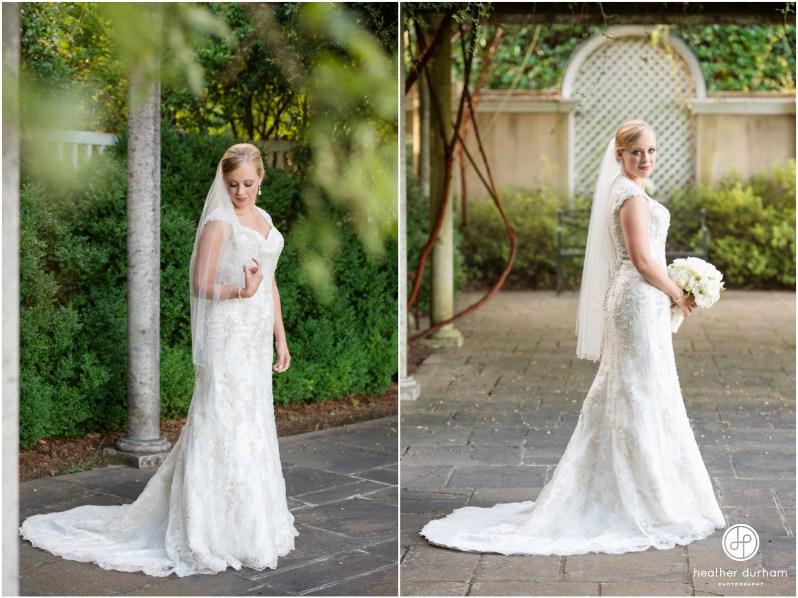 Caroline's Bridal Session at Birmingham Botanical Gardens