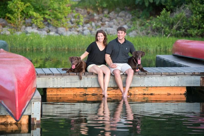 Lindsey & Darren's Engagement Session at Oak Mountain