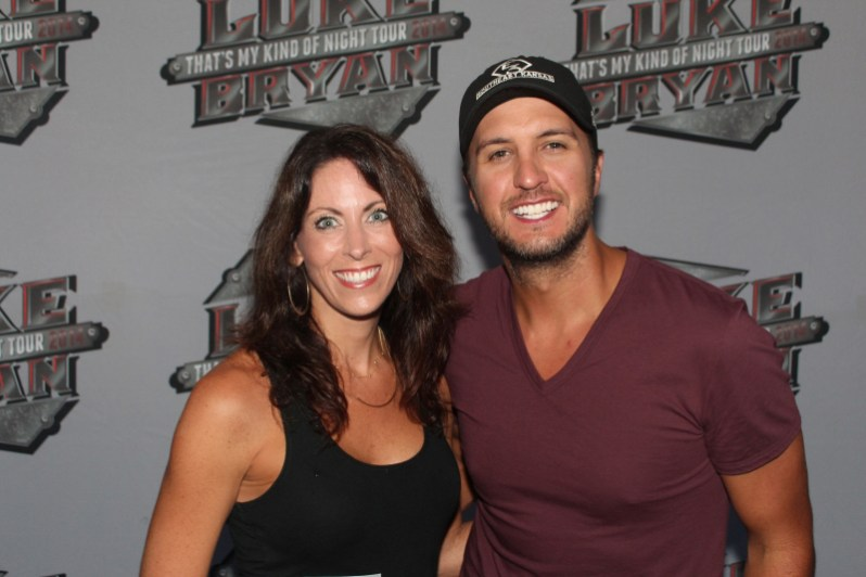 Heather & Luke Bryan