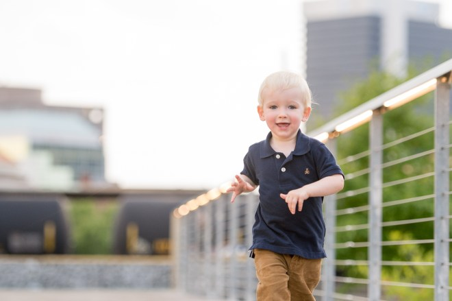 Morris Ave and Railroad Park Kids and Family Session Birmingham AL