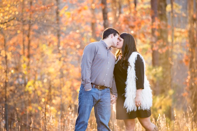 Heather Durham Photography, Birmingham AL wedding photographer, Fall engagement session