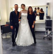 Einfach wunderbar: Eine weitere tolle Brautfrisur von Heiko Helfrich