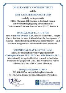 Invite OHSU-GCRF May 14-15