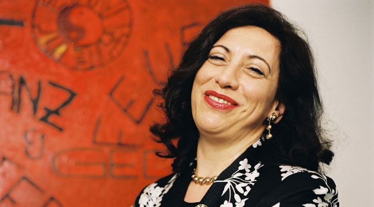 Elisabeth Heller hat als Rednerin selbst getestet wie Füllwörter passieren und wie man sie vermeiden kann